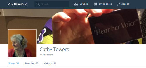 Cathy Towers Mixcloud